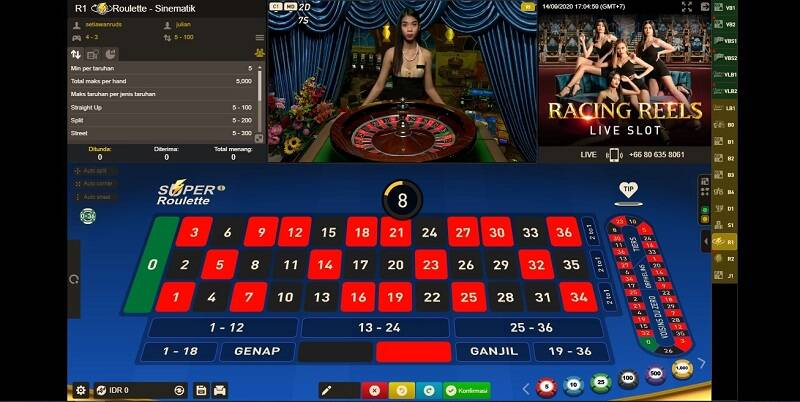 Online Game No. 1: Roulette